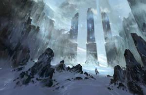 Snow Gates by Nele-Diel