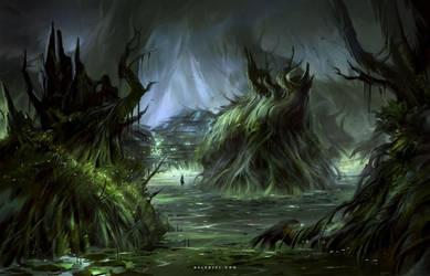 Swamp by Nele-Diel