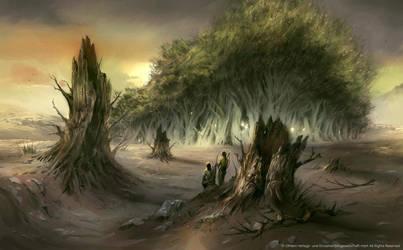 Sacred Grove by Nele-Diel