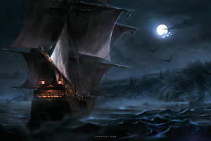 Dark Coast by Nele-Diel