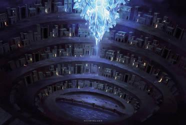Underground City by Nele-Diel