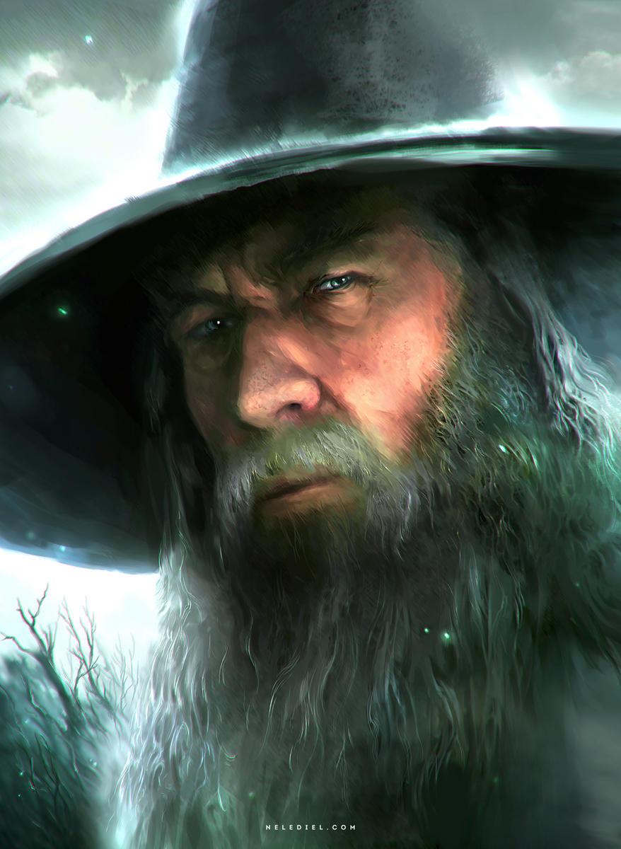 Gandalf by Nele-Diel