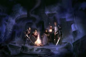 Darkness by Nele-Diel