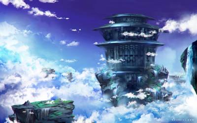 Flying Fortress by Nele-Diel