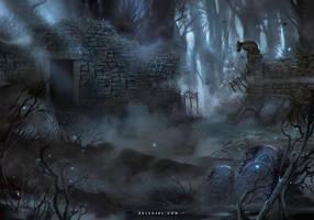 Graveyard by Nele-Diel