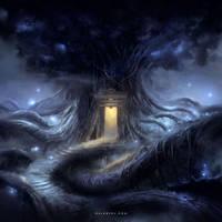 Tree Cabin (Time-Lapse Video) by Nele-Diel