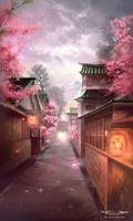 Cherry Blossom by Nele-Diel