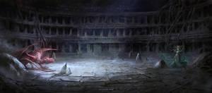 Underground Arena by Nele-Diel