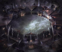 Demonic Arena by Nele-Diel