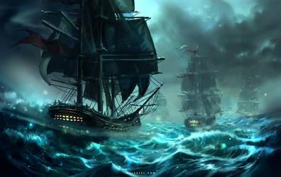 Ocean Wind by Nele-Diel