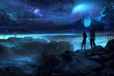 Gate to Unkown Worlds by Nele-Diel