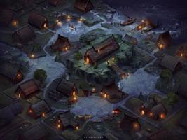 Viking Village by Nele-Diel