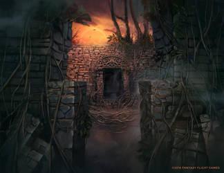 Ancient Entryway by Nele-Diel