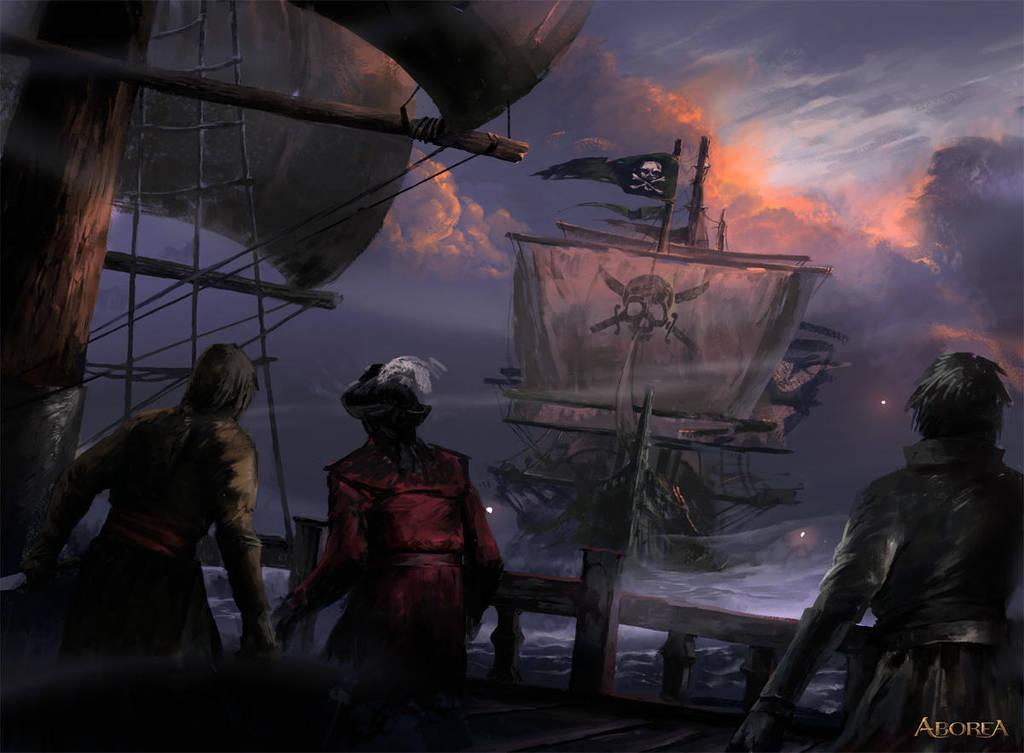 Old Pirate Ship by Nele-Diel