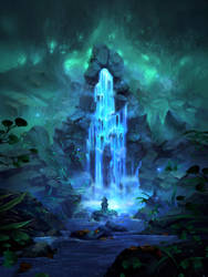 Sacred Well by Nele-Diel