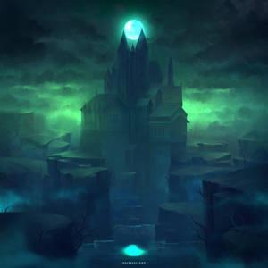 Shadow Castle by Nele-Diel