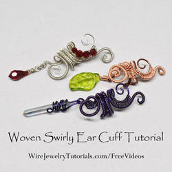 Wire Wrapped Ear Cuff Tutorial by Gailavira