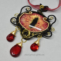 Dragon Slayer Necklace by Gailavira