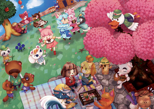Animal Crossing by XsuperabbitX