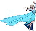 Snow Queen Elsa Sprite by CherushiMetsumari
