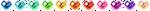 Pixel Heart Emoticons by CherushiMetsumari