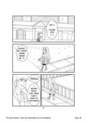The Secret Stash - Page 37 (Line Art) by RookBartly2