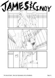 The Secret Stash - Page 40 (Line Art) by RookBartly2