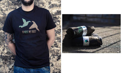 T-shirt 'In Noise We Trust' by thesunshadow