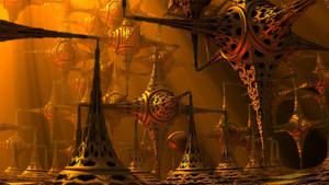 Steampunk Minefield by GBLXVIII