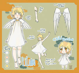 Character ref: Lilian by Blue-Milk95