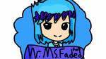 mr ms. Faded fan stamp by Aqourschan