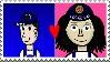Frank x Francine Stamp by Aqourschan