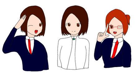 odd hair squad part 1 by Aqourschan