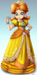Daisy Smashified by YoshiUnity