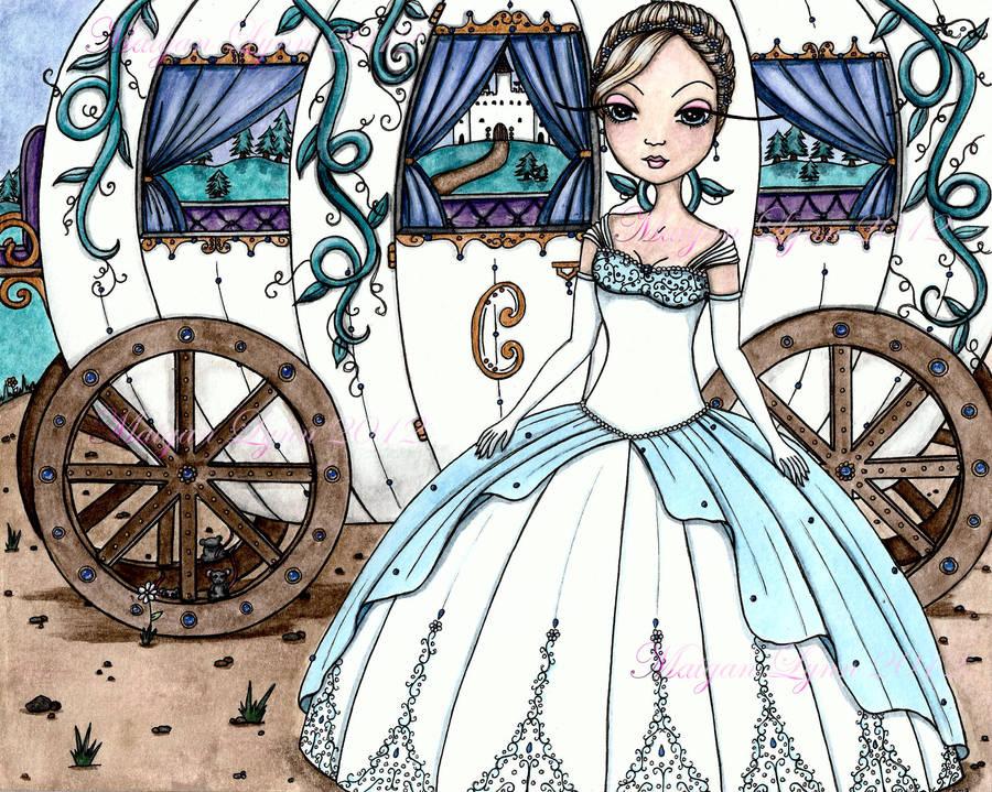 Cinderella by taurmailyn