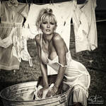 deanna lingerie sepia 4R V2 by markdaughn