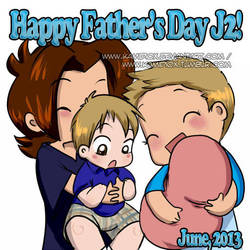Happy Fathers day, J2! by KamiDiox