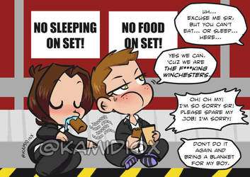 J to J: The Effing Winchesters by KamiDiox