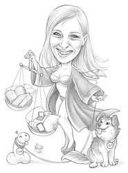 Caricature 104 by Dalamar89