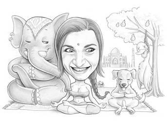 Caricature 105 by Dalamar89