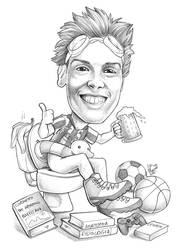 Caricature 110 by Dalamar89