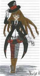 Mad Hatter Girl by Cc-SakuraAvalon-cC