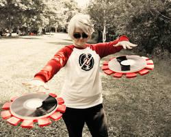 The DJ is Mine by VigilanteFlower