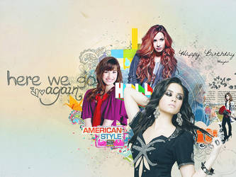 Happy 20th Birthday Demi Lovato by Diane-Demiley