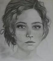 New Female Portrait by Saba-ken
