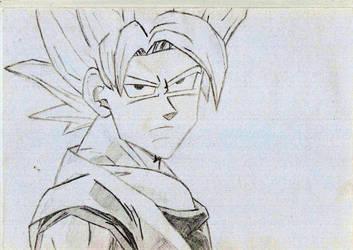 Goku SSJ1 by Schaapie327