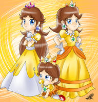 Princesses Daisys by SailorBomber