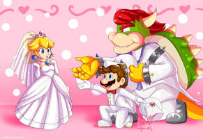 Come with me, Princess (Super Mario Odyssey) by SailorBomber