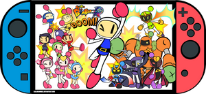 Super Bomberman R Anniversary (SPEEDVECTOR SOON) by SailorBomber