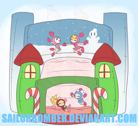 AT Christmas (Late) - Bouncy Castle by SailorBomber